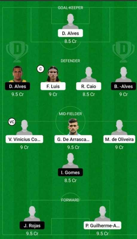 FLMG vs SAPL Dream11 Brazilian Serie A 2021 prediction