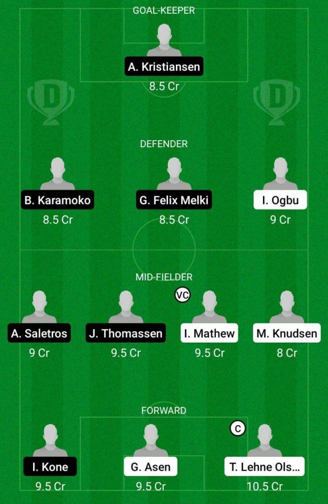 Prediction LST vs SBG Dream11 |  Norwegian Championship 2021