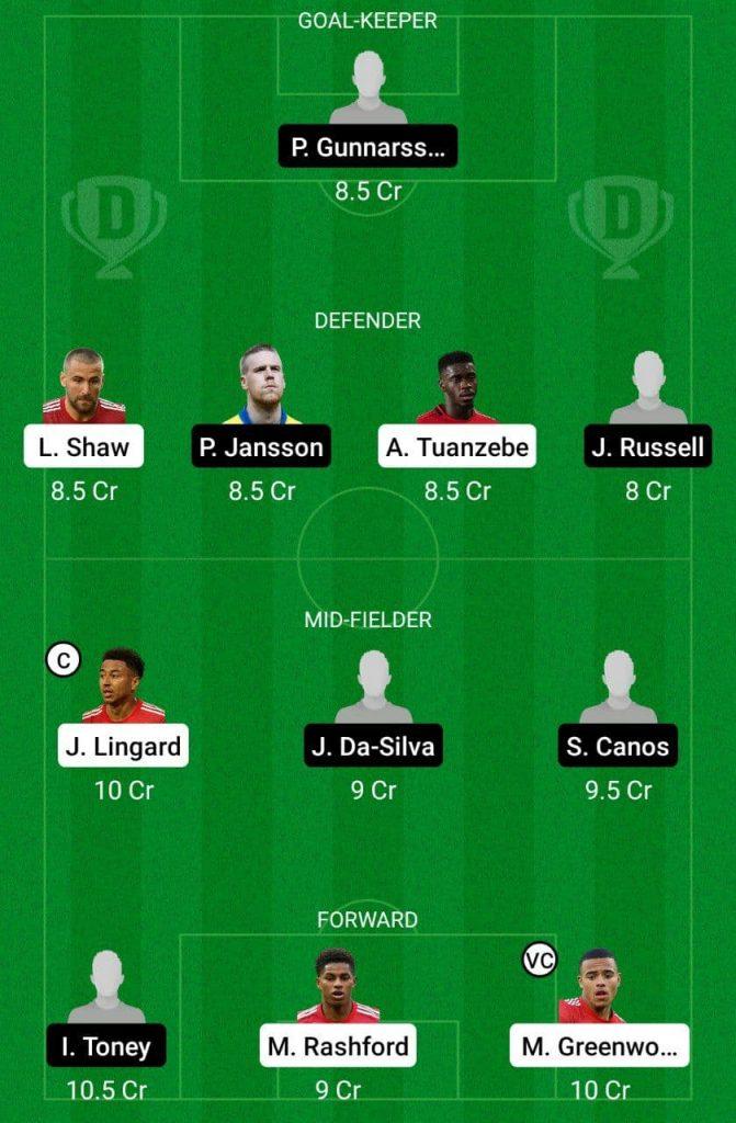 Prediction MUN vs BRE Dream11 |  Friendlies Clubs 2021