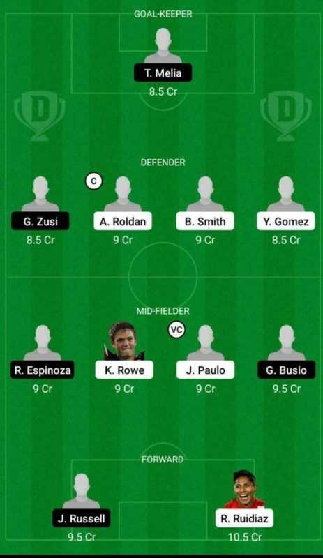 SS vs SPKC Dream11 Major League Soccer 2021 prediction