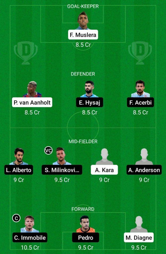 Prediction GAL vs LAZ Dream11 |  Europa League 2021